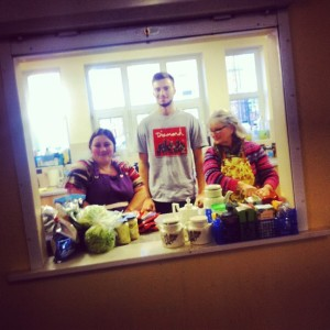kitchen prep